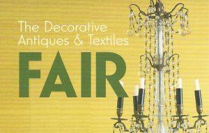 the decorative fair Jan 2019