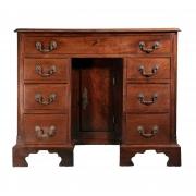 18th century Mahogany knee-hole desk-1