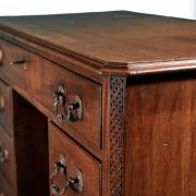 18th century Mahogany knee-hole desk-6