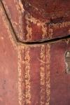 18th century morocco hide knife box