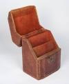 18th century morocco hide knife box 2