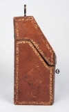 18th century morocco hide knife box 3