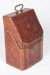 18th century morocco hide knife box 4