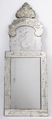 Italian cut glass mirror - 1.jpg