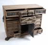 18thC Oak Flemish table cabinet1