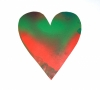 Jim Dine original painted cut out heart from Chester square