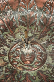 A copper fountain in the form of an Athénienne1