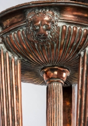 A copper fountain in the form of an Athénienne6
