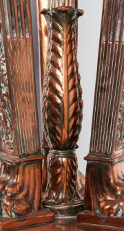 A copper fountain in the form of an Athénienne8