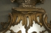 A Rare Rococo-revival gilt wood mirror after a design by Thomas Johnson - 07