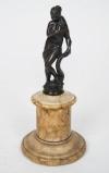 A Venetian late 16th early 17th century bronze figure of Venus-1