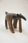 Carved wood Mehinako Tamandua - 3