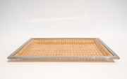 Christian-Dior-style-lucite-and-cane-tray-with-silver-plated-edging2