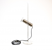 Chromed-Metal-and-Marble-Table-Lamp-by-Alain-Richard2