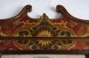 Eighteenth century leather covered pier mirror 3