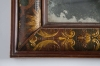 Eighteenth century leather covered pier mirror 4
