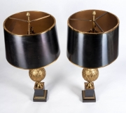 Fine pair of Maison Charles Table lamps4