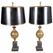 Fine pair of Maison Charles Table lampsx
