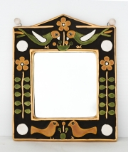 François-Lembo-style-ceramic-mirror-in-gold-and-colours1