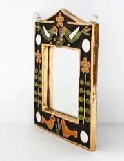 François-Lembo-style-ceramic-mirror-in-gold-and-colours3