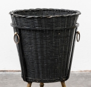 Jacques-Adnet-faux-bamboo-wastepaper-basket1