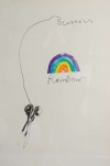 Jim Dine Scissors and Rainbow Lithograph 1969 2