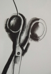 Jim Dine Scissors and Rainbow Lithograph 1969 6