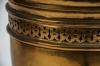 Large 19th century French gilt-brass lidded Potpourri urn - 3