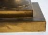 Large 19th century French gilt-brass lidded Potpourri urn - 4