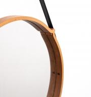 large-circular-teak-Italian-mirror-with-leather-strap-hanger3