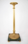 late 18th century George III gilt wood torchiere