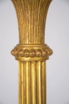 late 18th century George III gilt wood torchiere 1