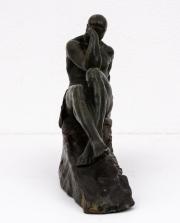 Le-Penseur-patinated-bronze-figure-by-Pierre-Le-Faguays4