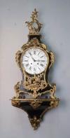 Louis XV ormolu-mounted striking bracket clock -