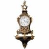 Louis XV ormolu-mounted striking bracket clock - -1