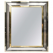 Maison Jansen cushion mirror.jpg