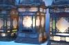 matched set of 3 large Moroccan hanging storm lanterns - 09