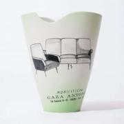 mid century ceramic factory vase-7