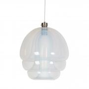 Murano chandelier hanging pendant for Mazzega by Carlo Nason