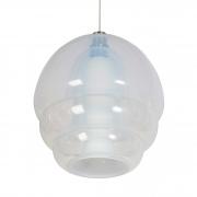 Murano chandelier hanging pendant for Mazzega by Carlo Nason2