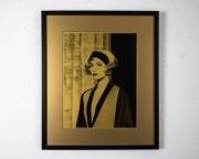 Linda-Evangelista-on-Gold-paper-framed-frame-54cm-wide-x-64cm-high-image-34cm-wide-x-43.5cm-high2