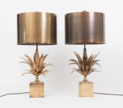 pair of Agave table lamps by Maison Charles-1