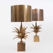 pair of Agave table lamps by Maison Charles-7