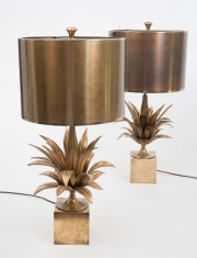 pair of Agave table lamps by Maison Charles-8