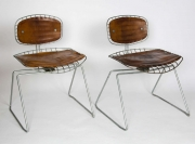 Pair of Beaubourg chairs2