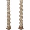 Pair of early 18thC Italian columns