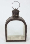 Pair of French toleware lanterns - B