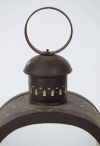Pair of French toleware lanterns - 1