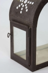 Pair of French toleware lanterns - 2