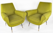 Pair of Gigi Radice Italian armchairs3